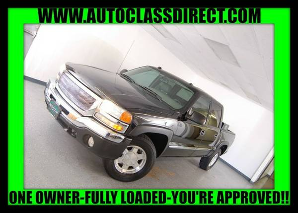 2004 GMC Sierra 1500 Crew Cab Onyx Black LOW PRICE - Great Car!