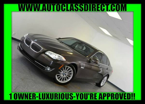 2012 BMW 5 Series Mojave Metallic Best Deal!!!