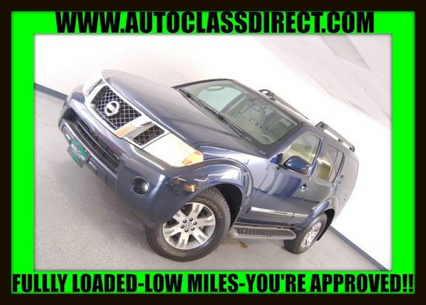 2012 Nissan Pathfinder Navy Blue *WHAT A DEAL!!*