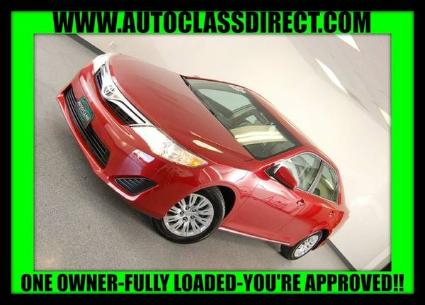 2014 Toyota Camry Barcelona Red Metallic GO FOR A TEST DRIVE!