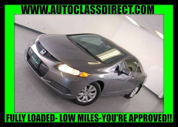 2012 Honda Civic Cpe Polished Metal Metallic Great price!