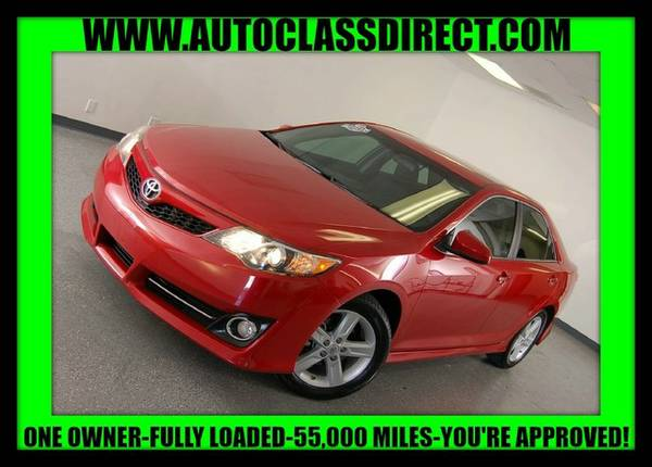 2012 Toyota Camry Barcelona Red Metallic LOW PRICE....WOW!!!!