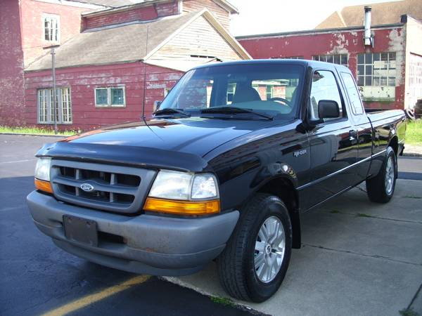 2000 FORD RANGER EXT CAB XLT 12-MONTH 12,000 MILE WARRANTY INCLUDED