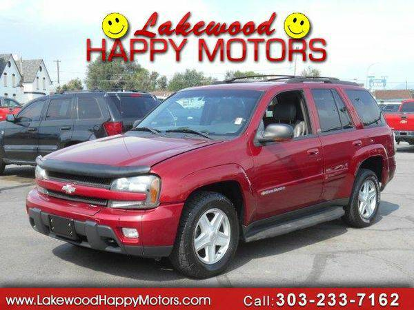 2002 *Chevrolet* *TrailBlazer* LS 4WD