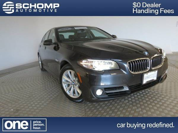 2016 BMW 5 Series 4dr Sdn 528i xDrive AWD 4dr Car