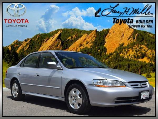 2002 Honda Accord Sdn EX Auto V6 w Leather 4dr Car