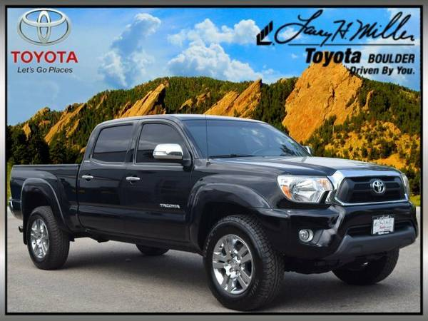 2013 Toyota Tacoma 4WD Double Cab LB V6 AT Crew Cab Pickup
