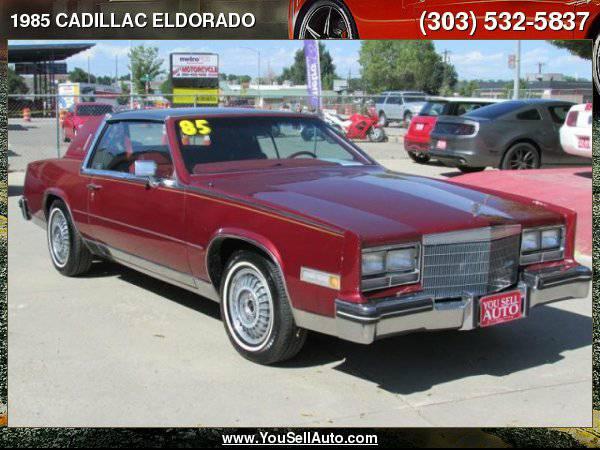 1985 CADILLAC ELDORADO 4.1L V8 Under 42k Miles!