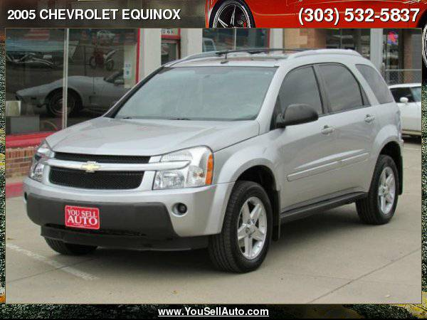 2005 CHEVROLET EQUINOX LT AWD Leather 130k *0dn_125mo