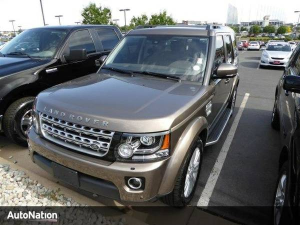 2016 Land Rover LR4 HSE LUX SKU:GA792783 Land Rover LR4 HSE LUX SUV