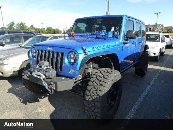 2016 Jeep Wrangler Unlimited Rubicon SKU:GL179992 Jeep Wrangler Unlimi