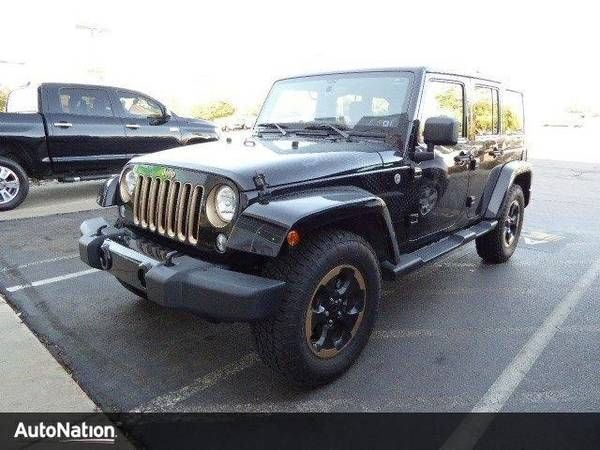 2014 Jeep Wrangler Unlimited Dragon Edition SKU:EL185540 Jeep Wrangler
