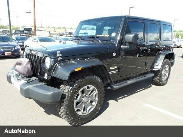 2015 Jeep Wrangler Unlimited Sahara SKU:FL530029 SUV