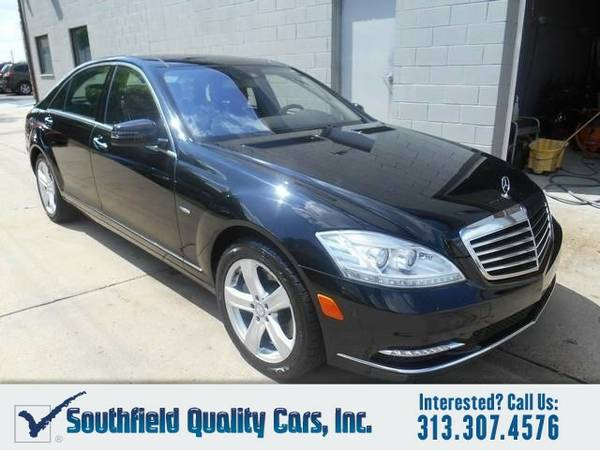 2012 Mercedes-Benz S550 4MATIC AWD 4dr Sedan Sedan S550 Mercedes-Benz