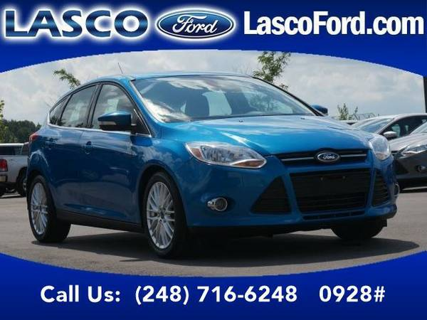 2012 *Ford Focus* SEL - Ford GUARANTEED CREDIT APPROVAL