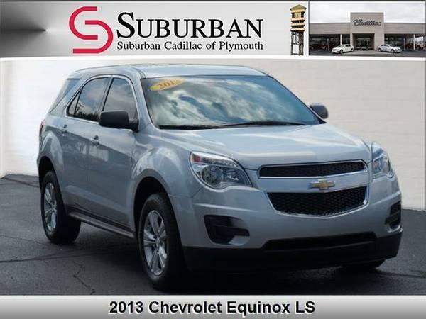 2013 *Chevrolet Equinox* LS - Chevrolet Silver Ice Metallic