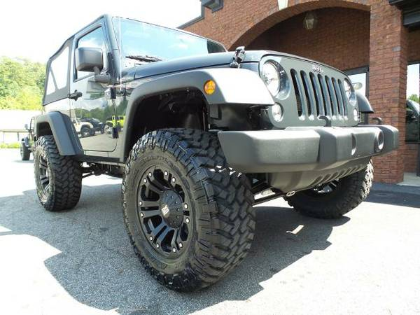2016 Jeep Wrangler Sport. Lifted, Automatic, Financing Available!!