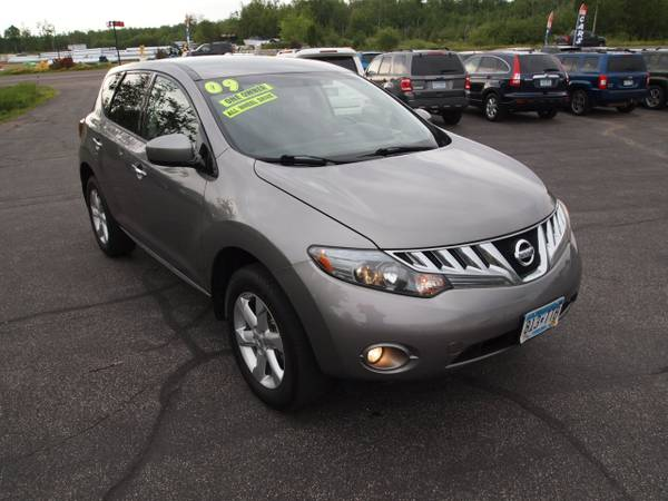 2009 NISSAN MURANO SL ALL WHEEL DRIVE 1-OWNER! WELL MAINTAINED!