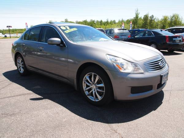 2007 INFINITI G35X ALL WHEEL DRIVE SEDAN! SPORTY! LUXURIOUS! RELIABLE!