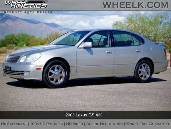 2003 Lexus GS 430 No Salesmen - All Internet!