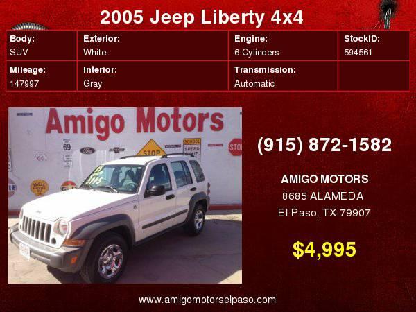 CARS $4995 OR LESS AT AMIGO MOTORS (WEEKLY SPECIALS)
