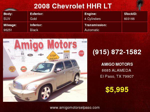 2008 CHEVY HHR LT ( SPECIALS) AMIGO MOTORS