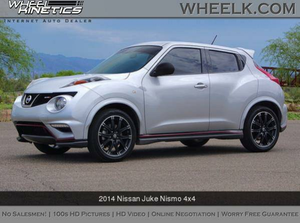 2014 Nissan Juke Nismo 4x4 View It All Online!