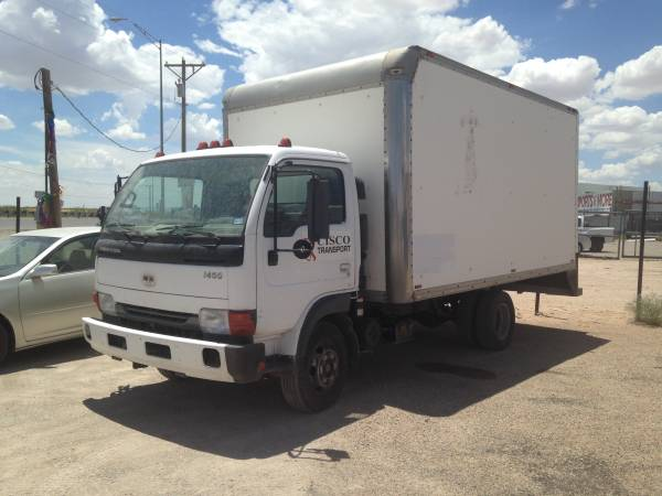 2002 Nissan Box Truck Diesel