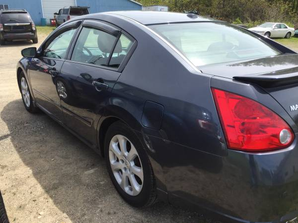 (Guaranteed Credit Approval) -2008 Nissan maximum SL