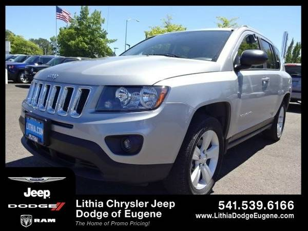 2015 Jeep Compass SPORT (You Save $530 Below KBB Retail)