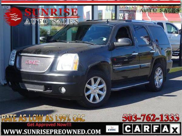 2007 *GMC* *Yukon* GMC YUKON Denali AWD CLEAN NICE SUV!!