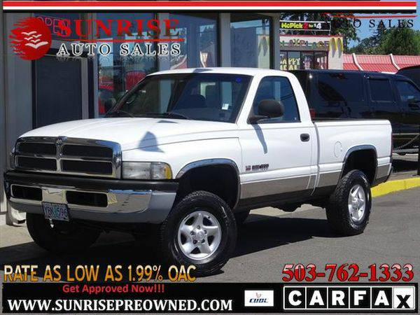2001 *Dodge* *Ram* *1500* ST 2dr Standard Cab, 4X4, GREAT WORK...