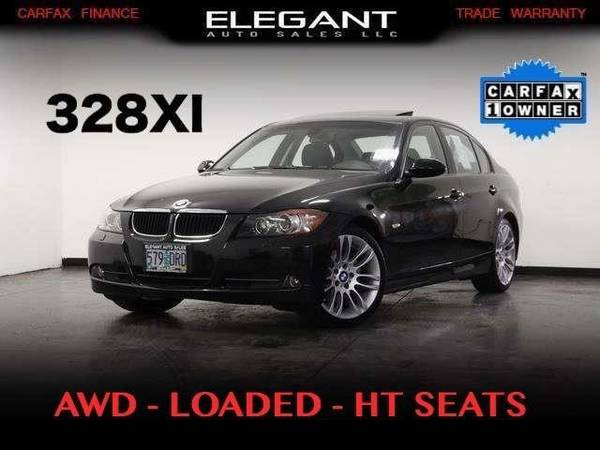 2008 BMW 3-Series 328xi AWD LOADED ONE OWNER HT SEATS CLEAN