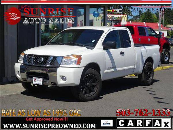 2010 *Nissan* *Titan* SE 4WD NICE WHEELS GREAT CONDITION!!
