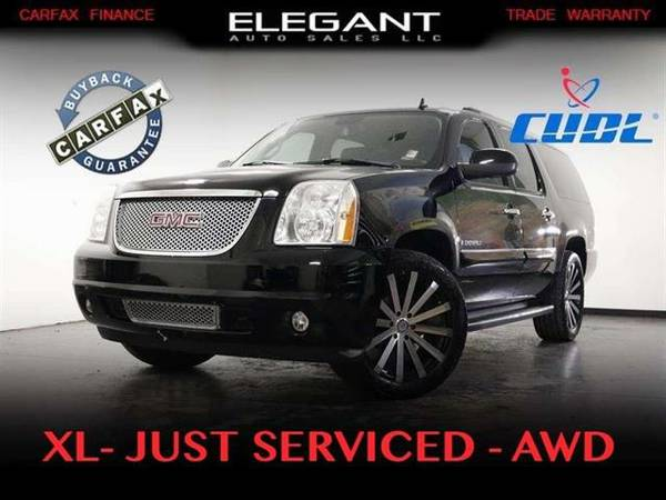 2007 GMC Yukon XL Denali AWD 3rd row seat new tires