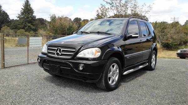 2003 Mercedes-Benz AWD ML500 Sport w/Carfax **Summer Deal**