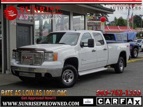 2010 *GMC* *Sierra* *2500* SLE 4WD LOW MILES NICE TRUCK!