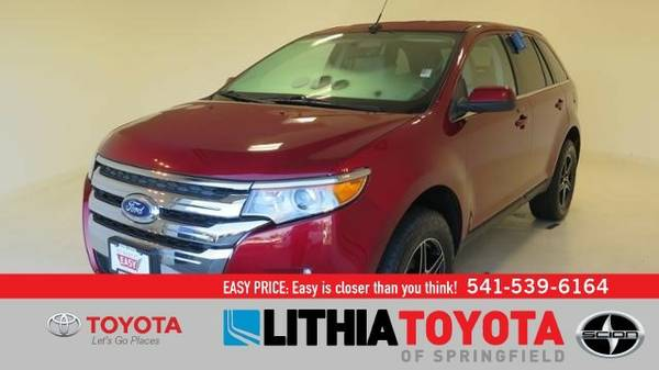 2013 Ford Edge LIMITED (You Save $607 Below KBB Retail)