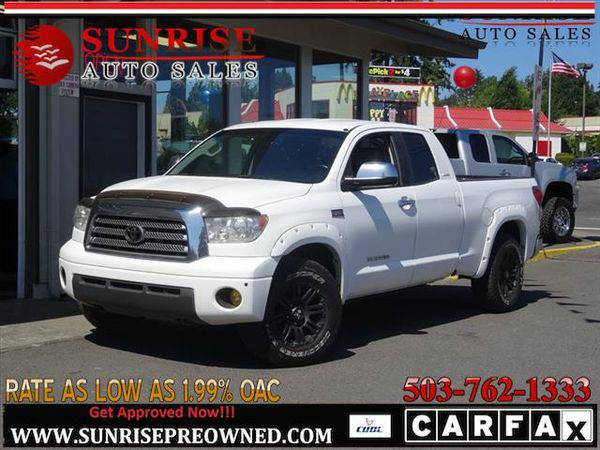 2007 *Toyota* *Tundra* Limited 4dr Double Cab 4WD, NICE TRUCK!!
