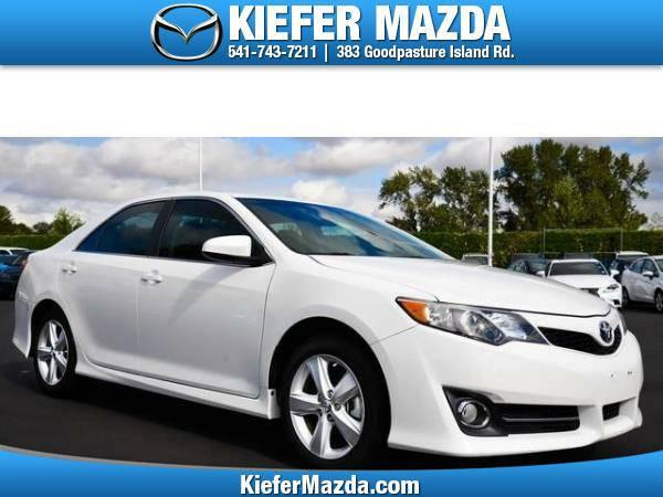 2012 *Toyota* *Camry* *4dr Sdn I4 Auto SE (Natl)* 4dr Car
