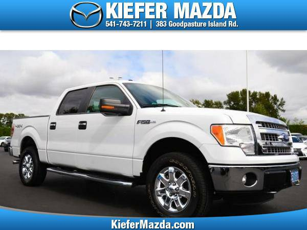 2014 *Ford* *F-150* *4WD SuperCrew 145 XLT* Crew Cab Pickup
