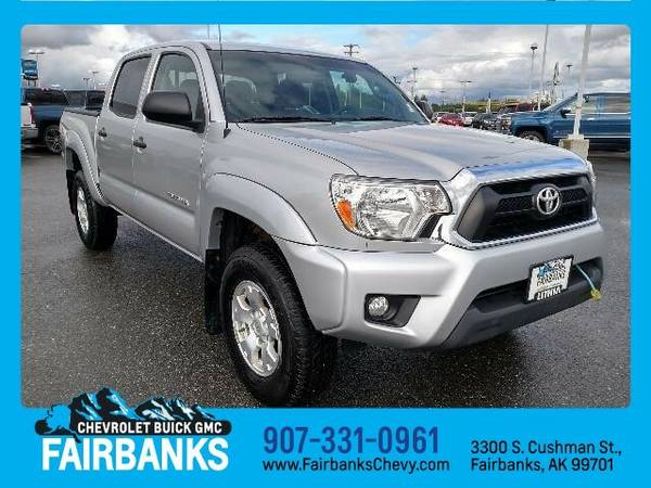 2013 Toyota Tacoma DOUBLE CAB (You Save $522 Below KBB Retail)