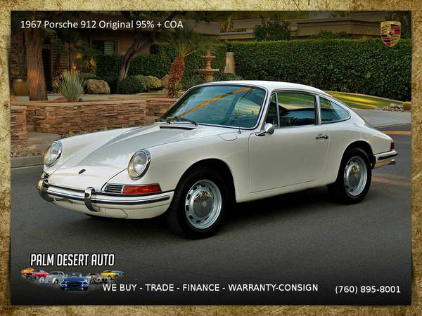 1967 Porsche 912 Original 95 COA Numbers Matching RESTORED