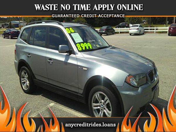 2006 *BMW* *X3* 3.0i You're Approved or Car is *Free*
