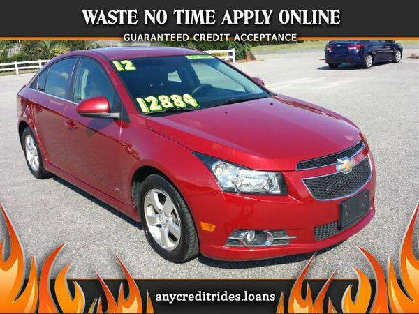 2012 *Chevrolet* *Cruze* 1LT You're Approved or Car is *Free*