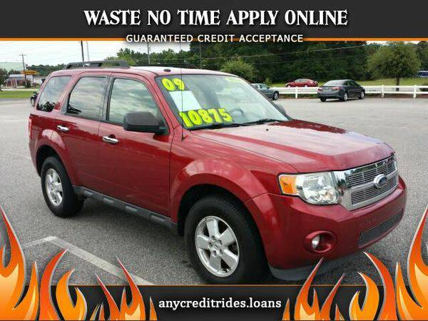 2009 *Ford* *Escape* XLT FWD I4 You're Approved or Car is *Free*