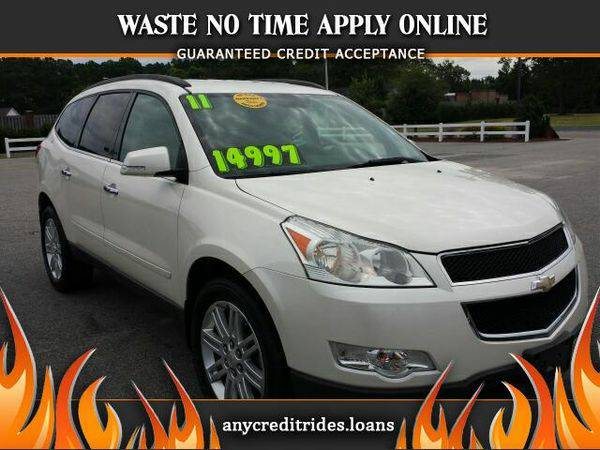 2011 *Chevrolet* *Traverse* LT FWD You're Approved or Car is...