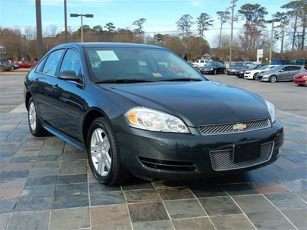 2014 CHEVROLET IMPALA LIMITED, Gray==MILITARY INSTANT APPROVALS!!!