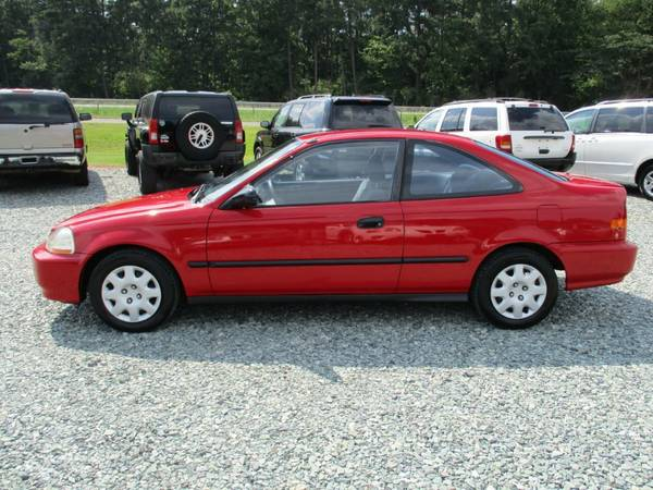 1998 Honda Civic DX, 1.6L 4 Cyl, Coupe, Auto, 151K, Cold A/C, NICE!