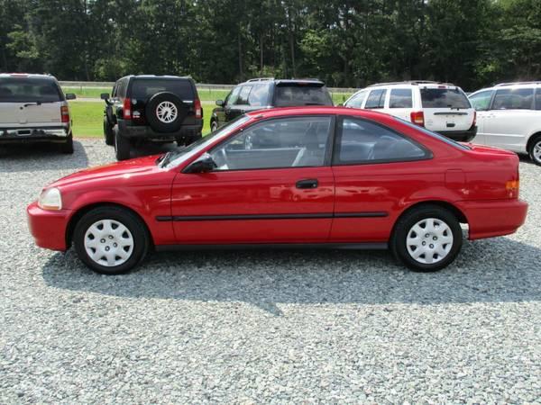 1998 Honda Civic DX, 1.6L 4 Cyl, Coupe, Auto, 151K, Cold A/C, NICE!
